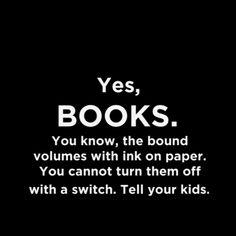Hi. I'm a Book. Remember me?