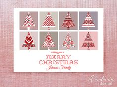 Christmas Card  Instant DOWNLOAD  EDITABLE by AndreeDesignStudio Christmas Cards, Unique Jewelry, Handmade Gifts, How To Make, Etsy, Christmas E Cards, Kid Craft Gifts, Xmas Cards, Craft Gifts