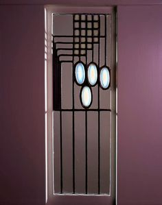 Screen for The Willow Tea Rooms, Glasgow 1903 (screen)  | Charles Rennie Mackintosh | Hunterian Art Gallery Mackintosh collections: GLAHA 52570