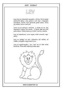 Encyklopédia zvierat - 22 zvierat - Aktivity pre deti, pracovné listy, online testy a iné Exotic Pets, Exotic Animals, Zoo, Education, Africa, Unusual Pets, Onderwijs, Learning