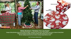 "SET YOUR DVR'S FOR WED! Learn how to make my ""Christmas Tree Lazy Susan and matching electrical cord covers and revolutionize how you string lights and decorate your tree!  Save time and effort by spinning your tree while you decorate it!  I've been spinning my tree for years and it's time to share this tip with my friends. Only on Home & Family on the Hallmark Channel USA at 10am pst.  Part of Hallmark Channel's  ""Christmas in July"" week!"
