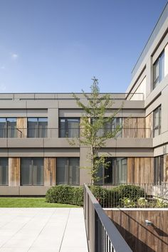 Areal Architecten's Mayerhof retirement home wraps two courtyards