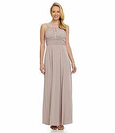 Sangria Keyhole Maxi Dress #Dillards