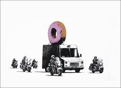#Banksy: è ora della (seconda) colazione