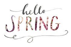 Hello Spring! // Lamplighter London | Bespoke wedding invitations & modern calligraphy