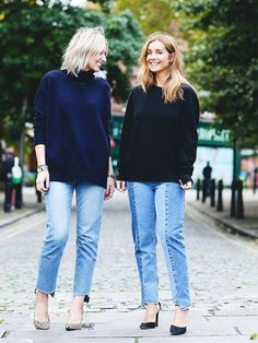 From step hems to embellishment, it's all happening in the denim world right now. But if you're not one for a frayed hem or a jewel-encrusted jean, there's a new look the fashion crowd are falling for adding a subtler detail to your everyday style.
