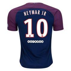 PSG 2017/18 Home Men Soccer Jersey NEYMAR JR #10
