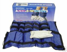 Ankle / Wrist Weigts 10 Lb /Pair Adjustable. Contains 1 pair of 5-slot pads with 10 pieces of 1 pound weights. Flexible design comfortably fits wrists and ankles. Ideal for use indoors and outdoors in aerobics and sports. Ships to all 50 States, APO, FPO, and P.O. Box.