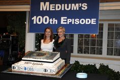 Medium cast celebrates its 100th episode!