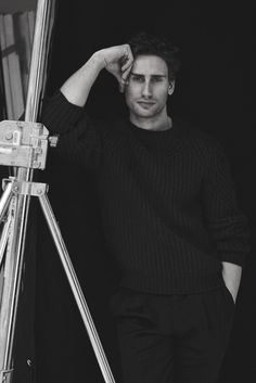 Edward Holcroft Poses for Interview, Talks London Spy