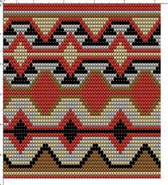 Wayuu Mochila pattern Mochila Crochet, Bag Crochet, Crochet Handbags, Crochet Purses, Crochet Chart, Tapestry Crochet Patterns, Crochet Stitches Patterns, Loom Patterns, Cross Stitch Pattern Maker
