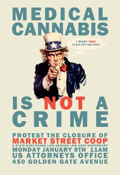 Medical cannabis ... is not a crime