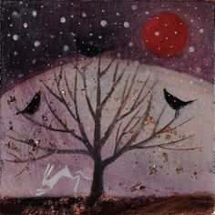 3. The Winter Solstice Card Set by CatherineHydeArt on Etsy