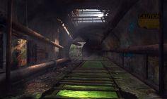 ArtStation - Abandoned Sewer, Charlie Taminian