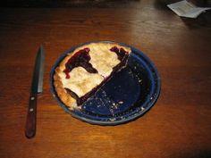 How to Make a Black Raspberry Pie - Our Twenty Minute Kitchen Garden
