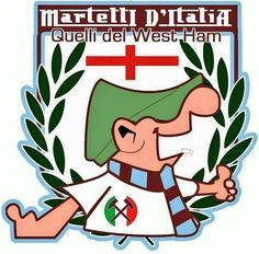 Logo of Italian fans of West Ham Football Club