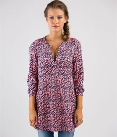 Sewing Patterns Tunic Costura Ideas For 2019 Tunic Sewing Patterns, Dress Making Patterns, Tunic Pattern, Clothing Patterns, Knitting Patterns, Sewing Clothes Women, Clothes For Women, Tunic Shirt, Tunic Tops
