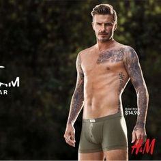 Photo: David Beckham's New Ad for H