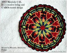 crochet mandala patterns free | Oombawka Design *Crochet*: Ravelry - My Crochet Library