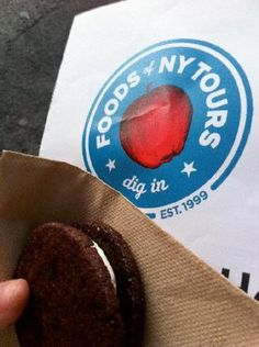 Foods of NY Tours - tasty tidbits during your Food $50 for 3 hours and including snacks