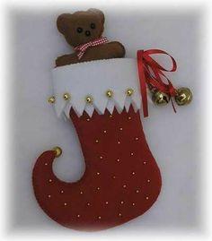 Christmas Projects, Felt Crafts, Christmas Crafts, Christmas Ornaments, Felt Christmas, Christmas Time, Beaded Wedding Jewelry, Felt Owls, Xmas Stockings