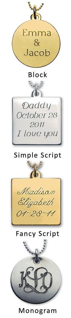 Add Engraved Message to the Back of a Locket, Photo Charm or Wedding Bouquet Charm $10