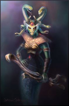 DotA 2, Medusa by DariaDesign on DeviantArt