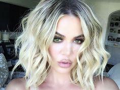Bildresultat för khloe kardashian hair