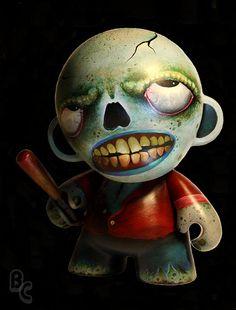 Bryan Collins Zombie Munny by Bryan_Collins, via Flickr