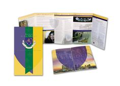 Some of our design work at McGregor Shott, Inc. Branding for Mount St. Mary's College