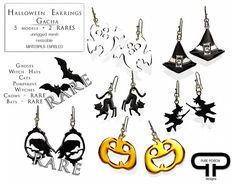 Pure Poison - Halloween Gacha Earrings   Flickr - Photo Sharing!