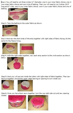 How to Make a Cuddle Cup (requires sewing)