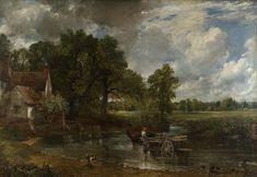 John Constable, 1821, The Hay Wain. Romanticism