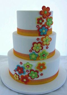 Simple Wedding cake - Cake by Cake A Chance On Belinda Fancy Cakes, Cute Cakes, Pretty Cakes, Beautiful Cakes, Amazing Cakes, Pink Cakes, Fondant Cakes, Cupcake Cakes, Fruit Cupcakes