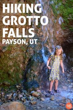 Grotto Falls | Adventurin' | The Salt Project | Things to do in Utah with kids