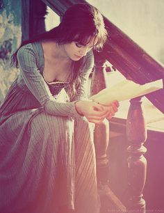 Elizabeth Bennet. Not always Keira's biggest fan, but I really love her in this role. Also, I just love Elizabeth Bennet. <3