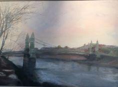 Hammersmith Bridge -Early Morning