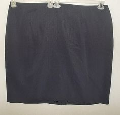 Women's Plus size career skirt 24w 3X Professional slimming vertical pinstripes #Unbranded #StraightPencil