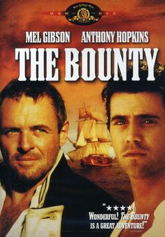 THE BOUNTY is a well-made adventure based on the disastrous voyage of the HMS Bounty, starring Mel Gibson as the rebellious crew leader Fletcher Christian and Anthony Hopkins as the stern Captain Blig