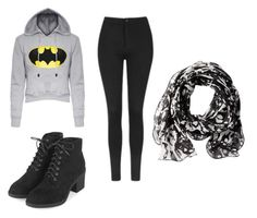 """Batman- Invierno"" by aylemmaramista on Polyvore featuring Topshop, Calvin Klein, men's fashion and menswear"