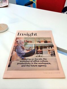 Form newspaper 'Insight' #YourWorkspace contact hello@form-office.net for a free copy