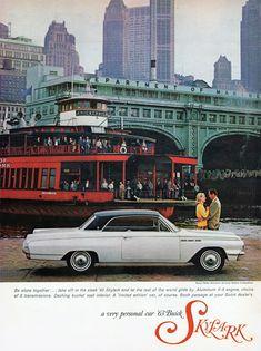 Buick V8 Skylark Coupe 1963 Knickerbocker - www.MadMenArt.com | Vintage Cars…