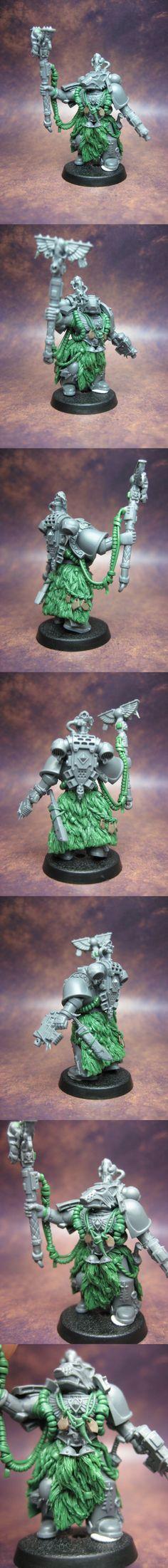 Space Wolves - Rune Priest