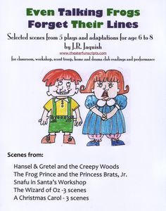 FREE Readers Theater! theaterfunscripts.com 'Talking Frogs' Scene Books