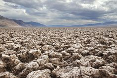 Devils Golf Course in Death Valley Photograph
