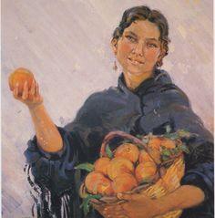 """""""Taronges"""", any 1941 -  Autor: Josep Tarrés Palau (1892-1945)"""