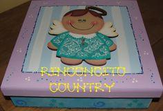 Caja chocolatera en mdf. pintura country. https://www.facebook.com/Rinconcito-Country-180085335467077/