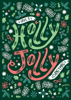 Christmas Card Collection by Poppy & Red , via Behance