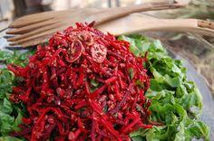 Sesame Beet Salad Recipe - Clean Food Dirty Girl