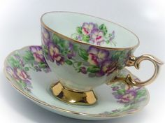 Vintage Royal Sealy China Japan tea cup and saucer